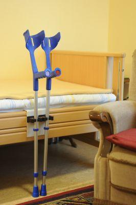 Klemmprofil für Unterarmgehstützen mit 2 Toolflexhalter 20-30mm